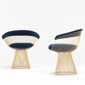 Platner Gold Blue